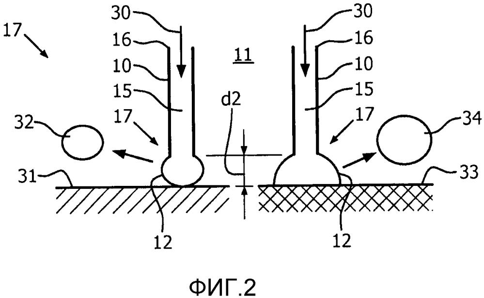 Определение налета с использованием потокового зонда