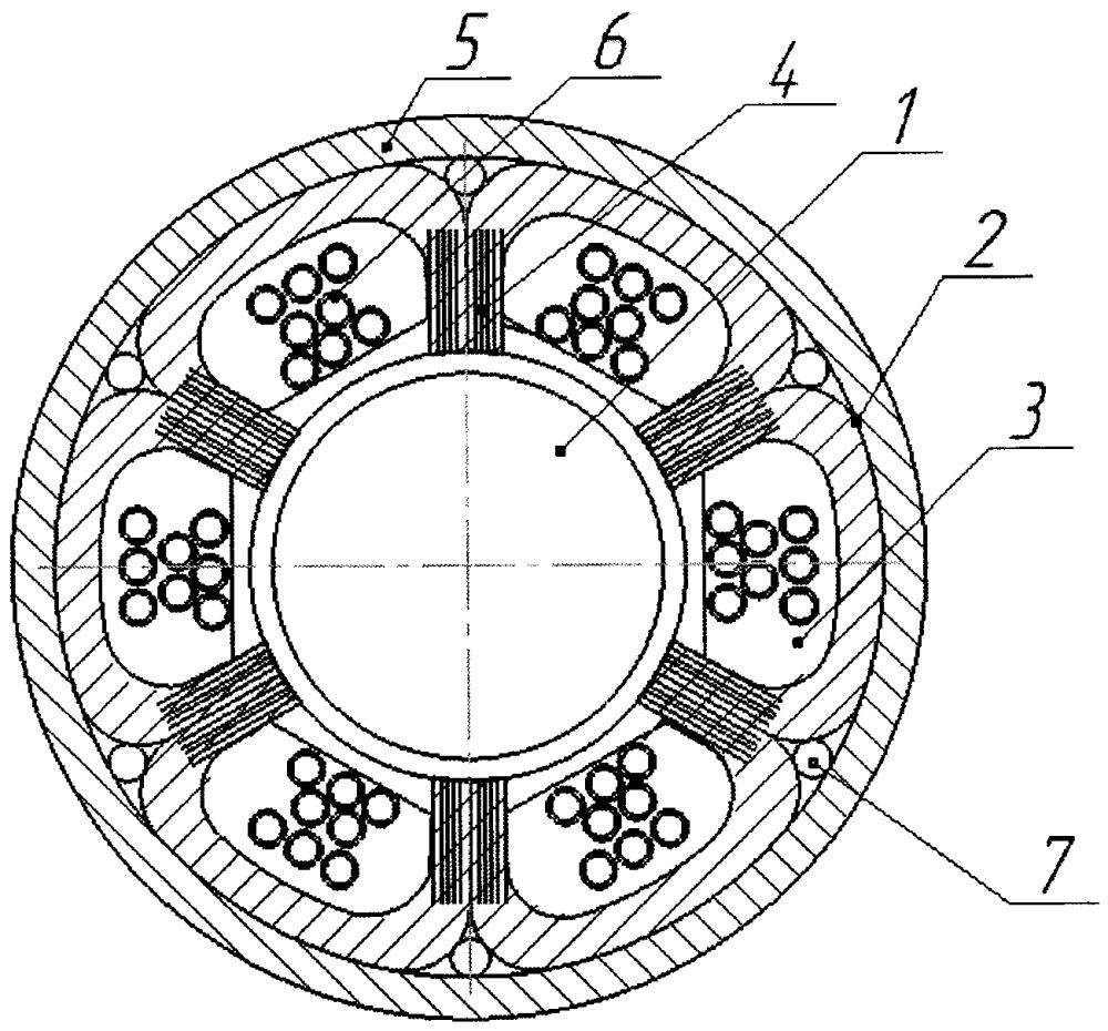 Гибридный магнитопровод статора электромеханических преобразователей энергии