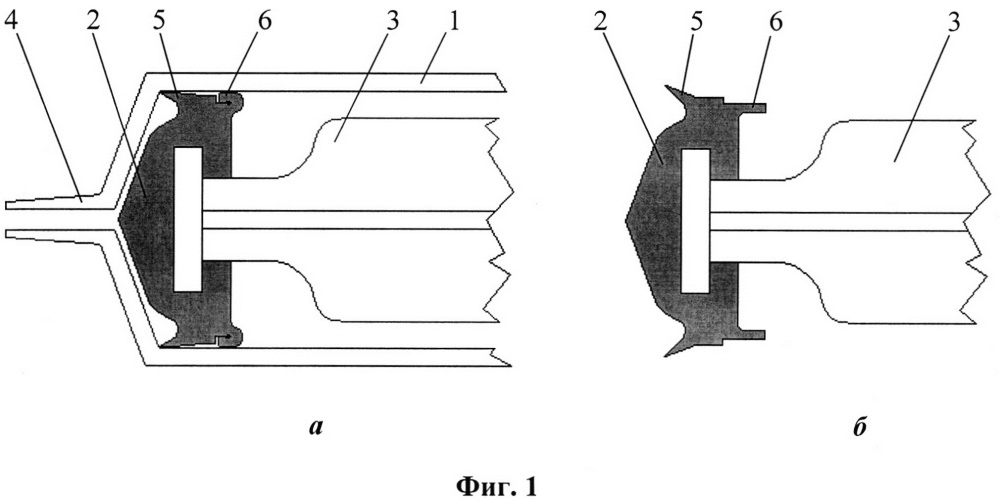 Трехкомпонентный шприц однократного применения