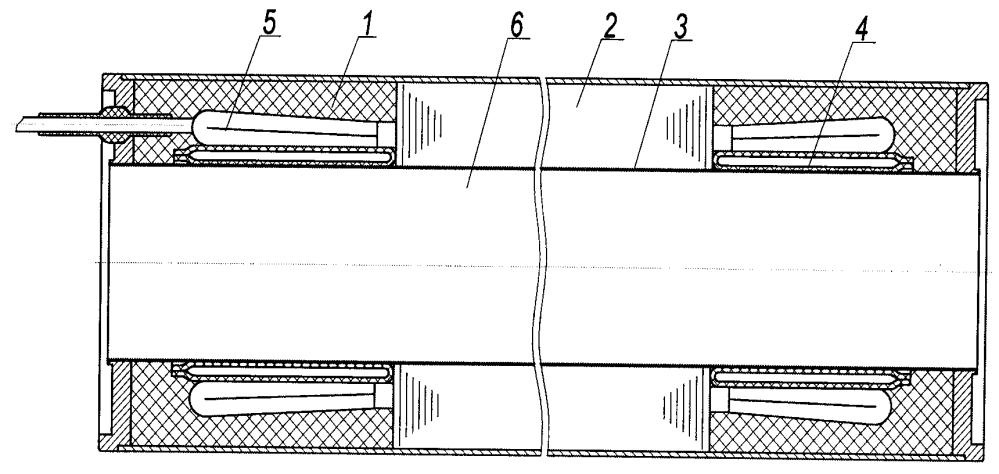 Компенсатор объемного расширения диэлектрического компаунда погружного электродвигателя