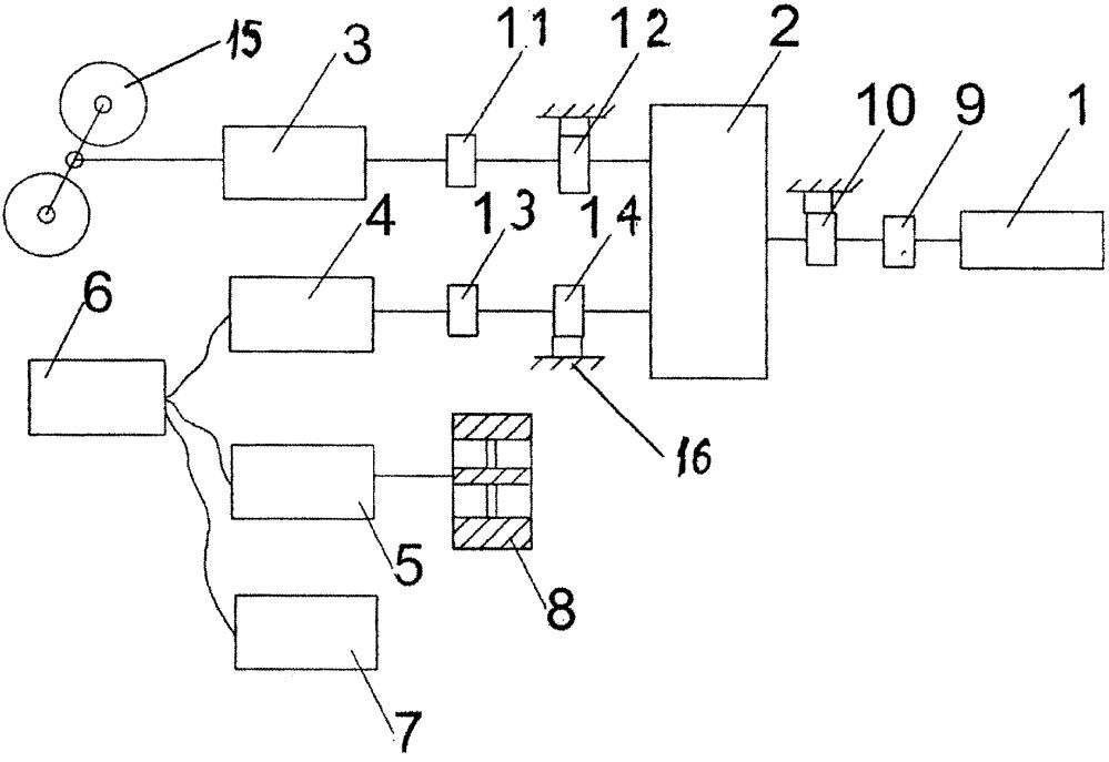 Способ управления дизель-электрическим агрегатом с маховичным аккумулятором и устройство для его реализации