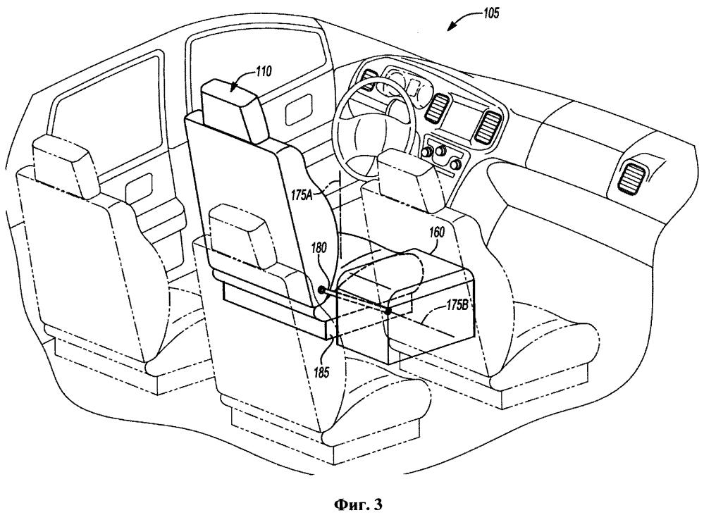 Автономное транспортное средство с сиденьями с изменяемой ориентацией