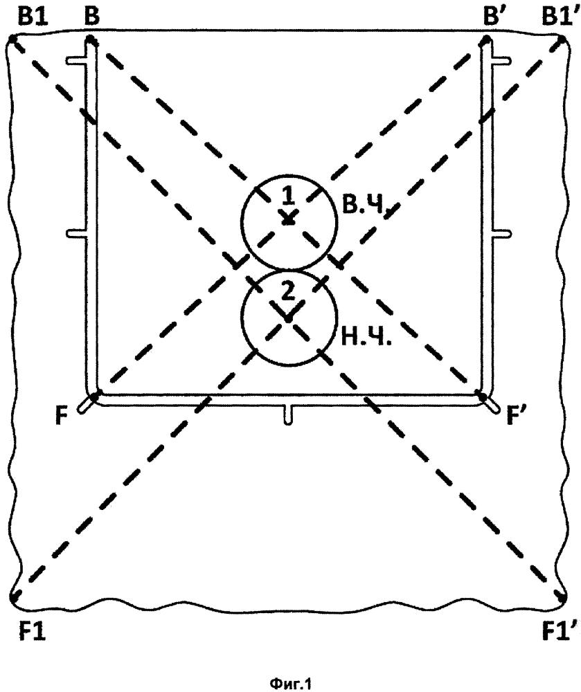 Латексный платок для системы раббердам и способ разметки латексного платка для системы раббердам