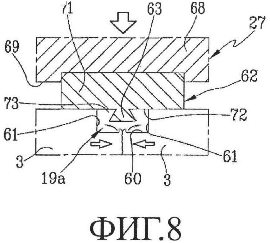 Способ и устройство для сварки профильных элементов, изготовленных из пластмассового материала, в частности пвх