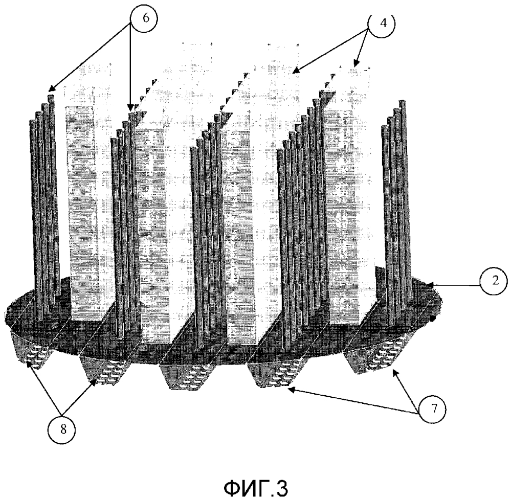 Распределительная пластина для газожидкостной контактной колонны с системой вторичного распределения