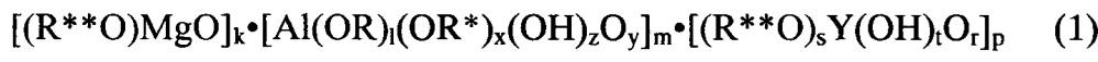 Способ получения органомагнийоксаниттрийоксаналюмоксанов, связующие и пропиточные материалы на их основе
