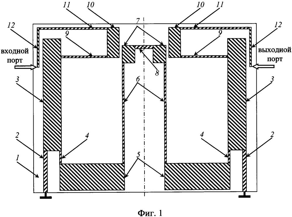 Микрополосковый широкополосный фильтр