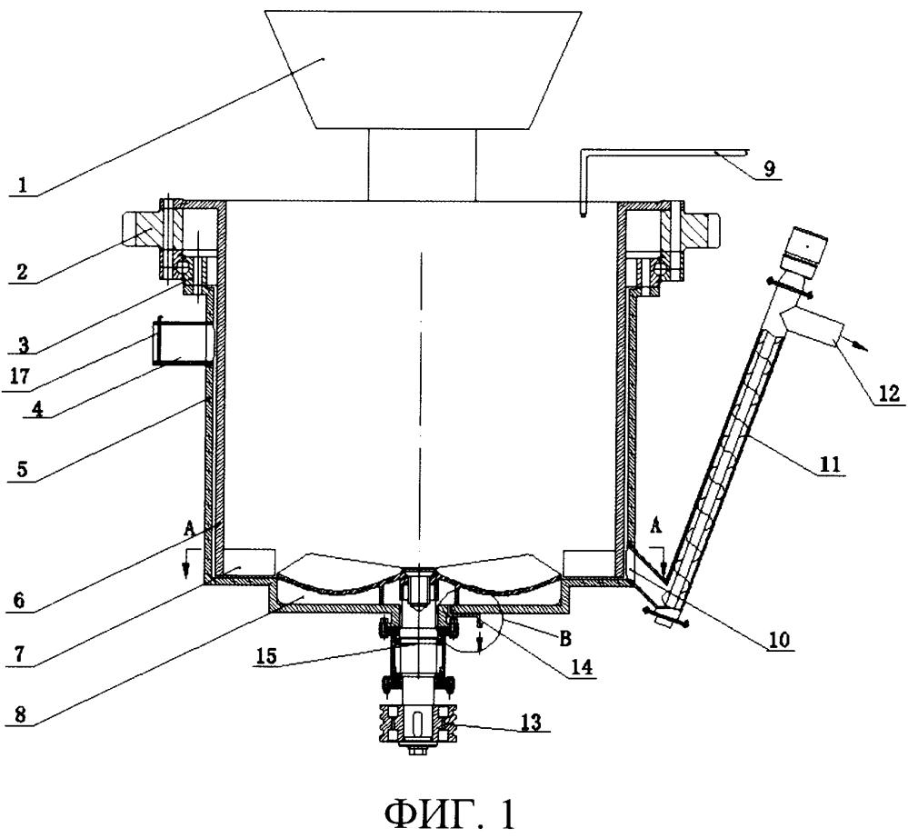 Вертикальная машина для получения суспензии для предотвращения и тушения пожаров для горнодобывающей промышленности