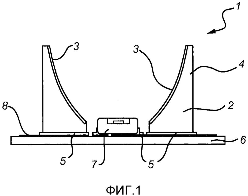 Светоизлучающее устройство и способ изготовления светоизлучающего устройства