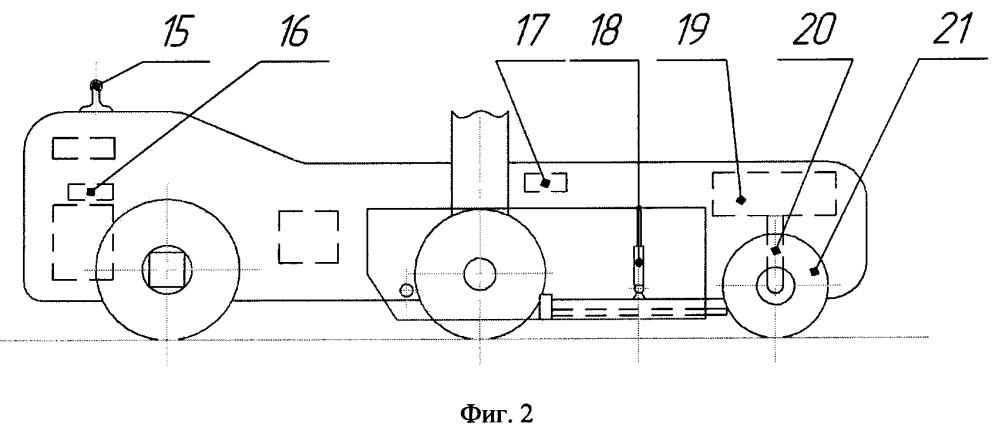 Малогабаритный буксировщик воздушных судов с дистанционным управлением