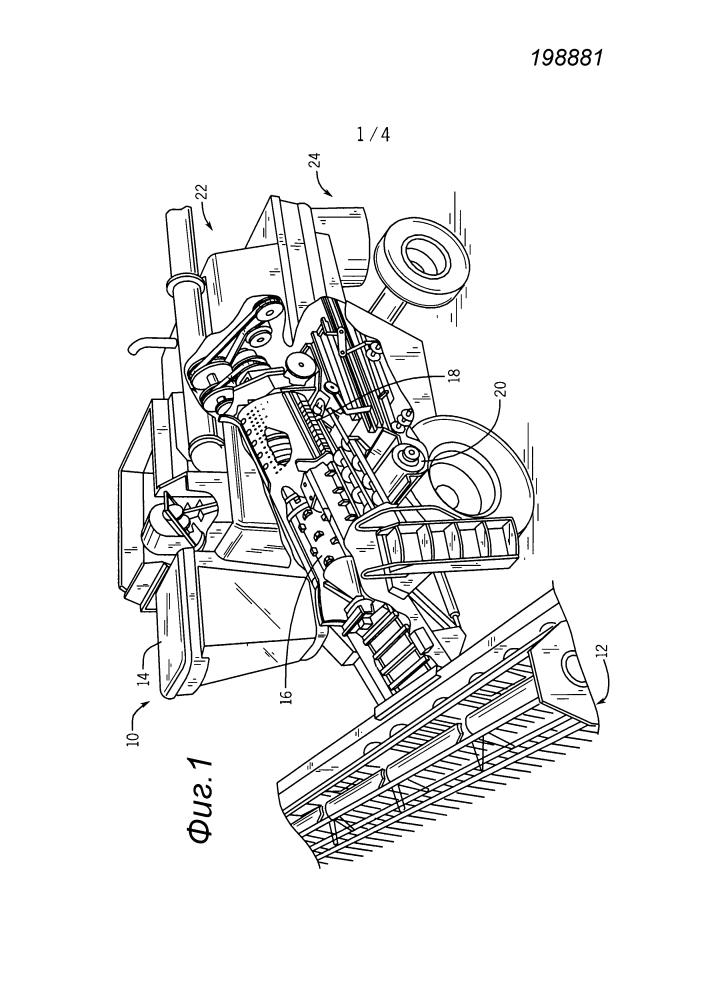 Система и способ управления выпуском разбрасывателя из уборочной машины