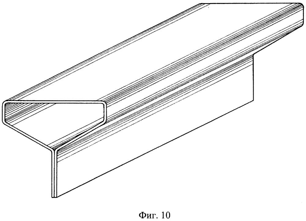 Пятиугольный гнутозамкнутый профиль