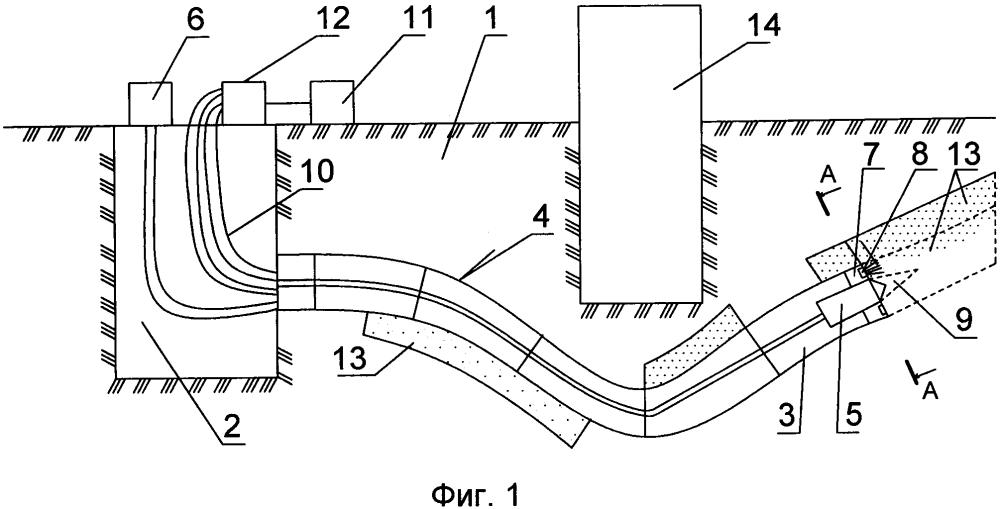 Способ бестраншейной прокладки трубопроводов в грунте