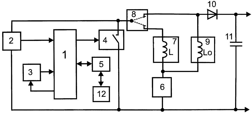 Микропроцессорное устройство диагностики изоляции электродвигателя по эдс самоиндукции с функцией мегомметра
