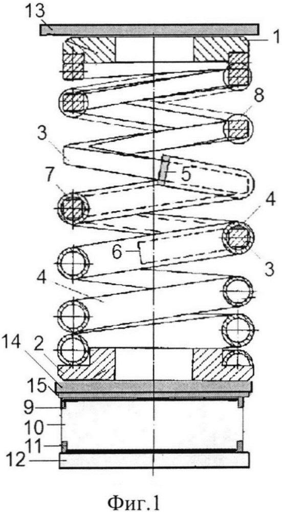 Виброизолирующая система кочетова со встроенным демпфером