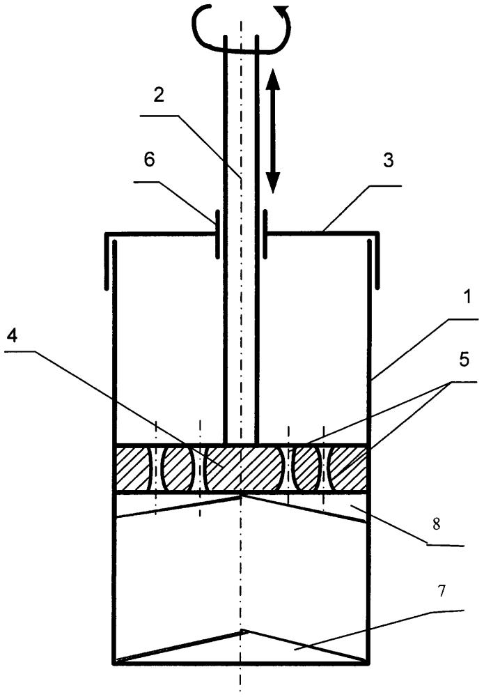 Смеситель для жидких и вязких материалов
