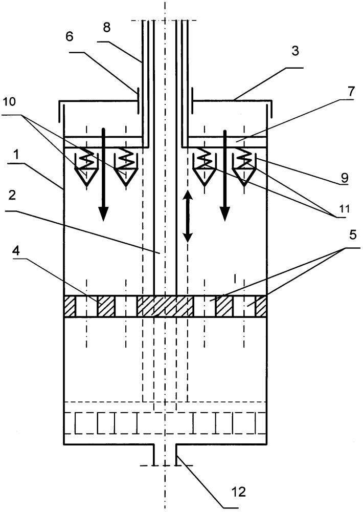 Смеситель для смешивания жидких и вязких материалов