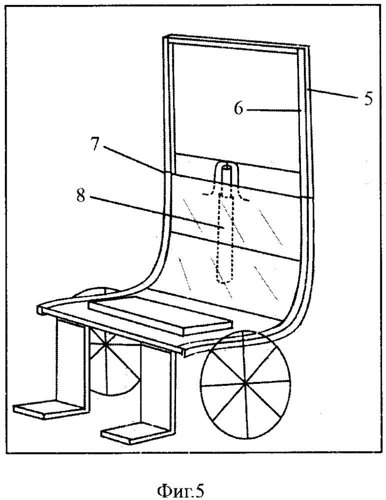 Инвалидное функциональное туалетное кресло