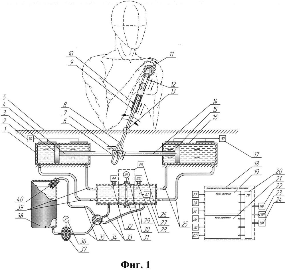 Тренажер для развития мышц верхних конечностей