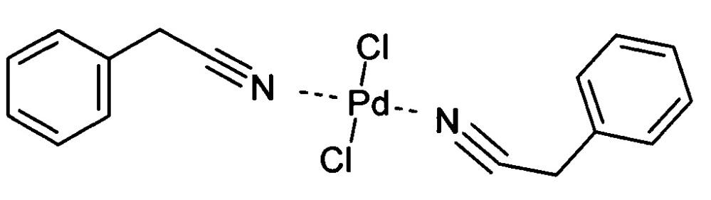 Дихлорид ди(фенилацетонитрил) палладия и способ его получения