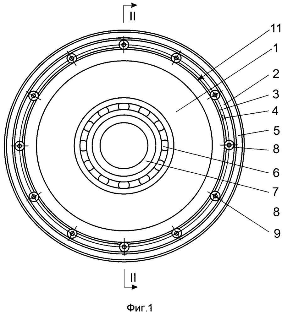 Устройство с двумя соосными роторами