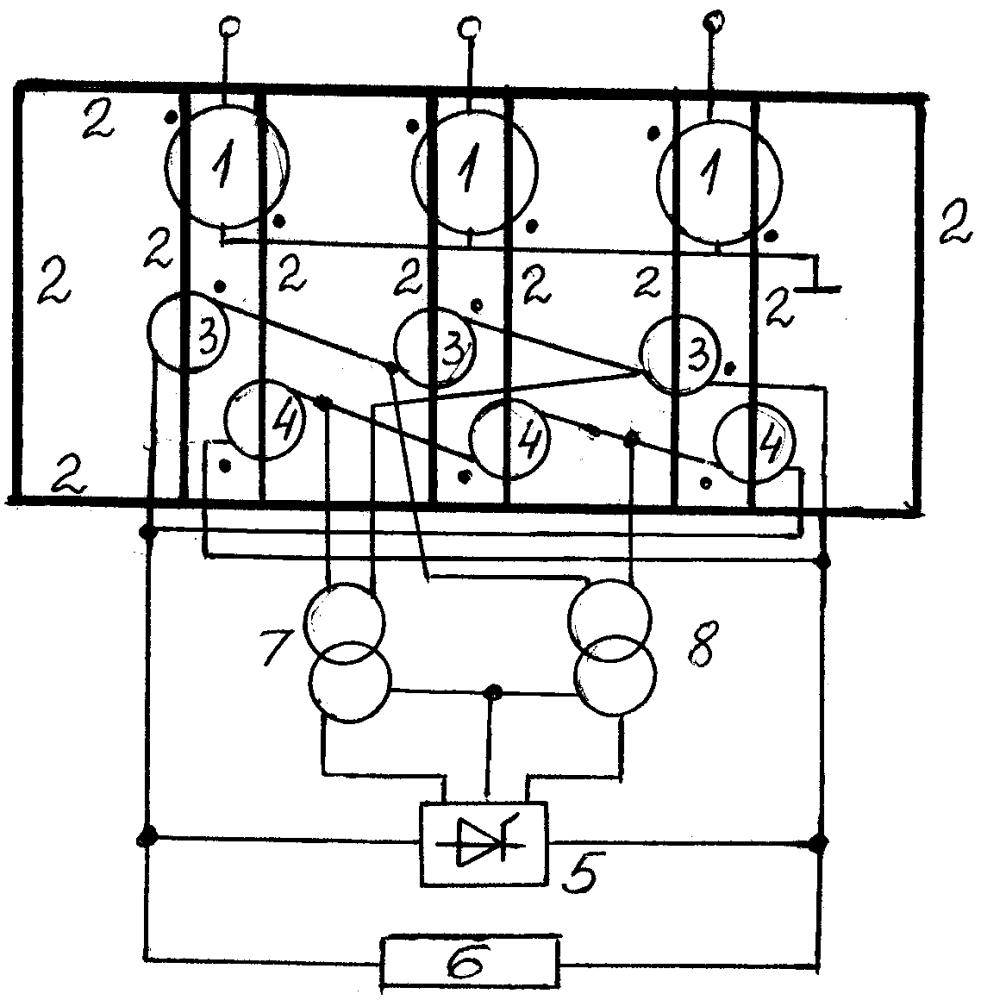 Шунтирующий реактор с компенсационно-управляющей обмоткой