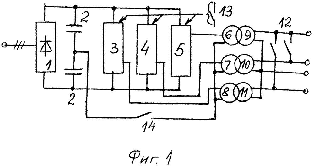 Устройство для испытания трансформаторов