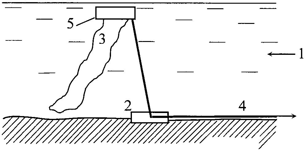 Устройство преобразования механической энергии движения водной среды в электрическую энергию
