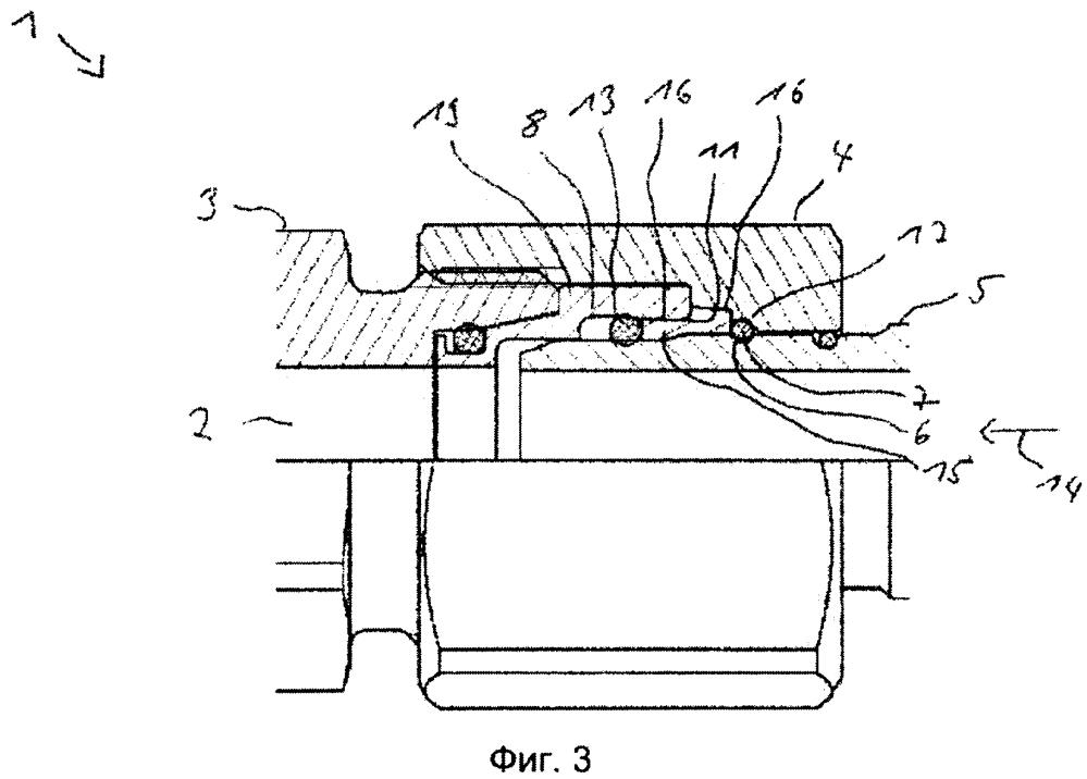 Беззазорное вставное соединение для трубо- и шлангопроводов