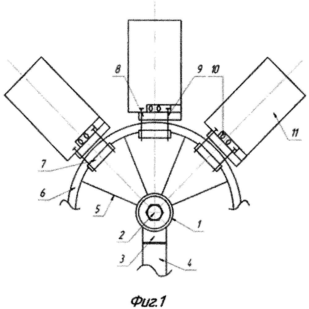 Ветроколесо электрогенератора сегментного типа
