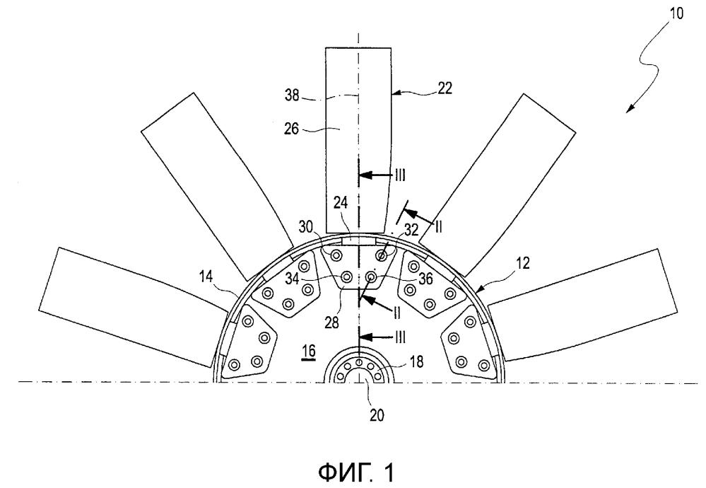 Рабочее колесо для осевой воздуходувки