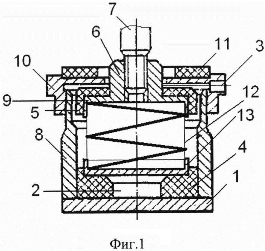 Виброизолятор пружинный кочетова