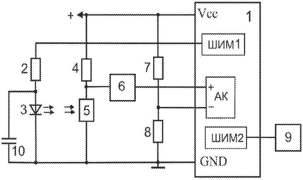 Микроконтроллерный датчик пульса с передачей информации по радиоканалу