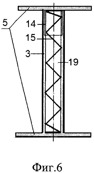 Стержень для кирпичной панели сейсмостойкого здания