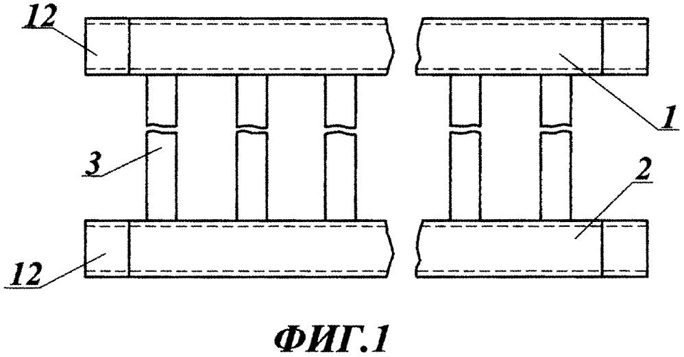 Способ соединения коллекторов радиатора с трубками вертикальных колонок