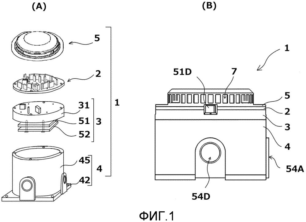 Фотоэлектрический детектор дыма