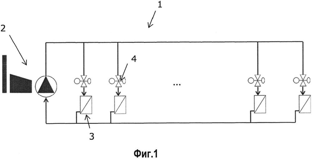 Способ балансировки системы теплового потока, система и контроллер с использованием данного способа