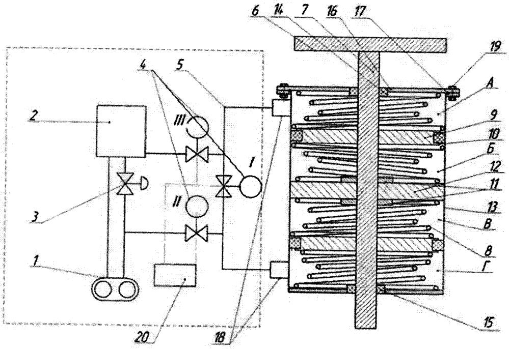 Гидравлическая опора силового агрегата с адаптируемыми характеристиками