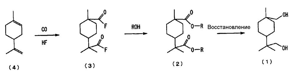 Новое алициклическое диольное соединение и способ его получения