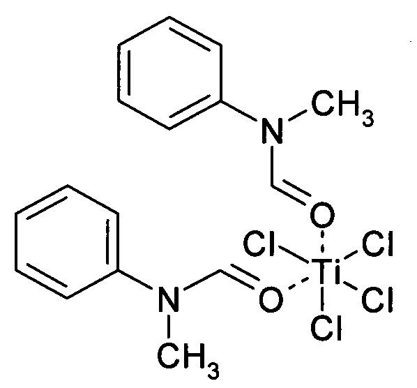 Комплекс тетрахлорида титана с n-метилформанилидом и способ его получения