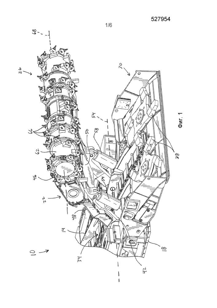 Система воздушного потока для горной машины