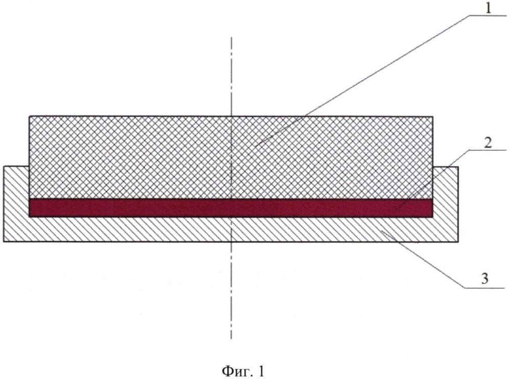 Способ получения паяного соединения молибдена и графита