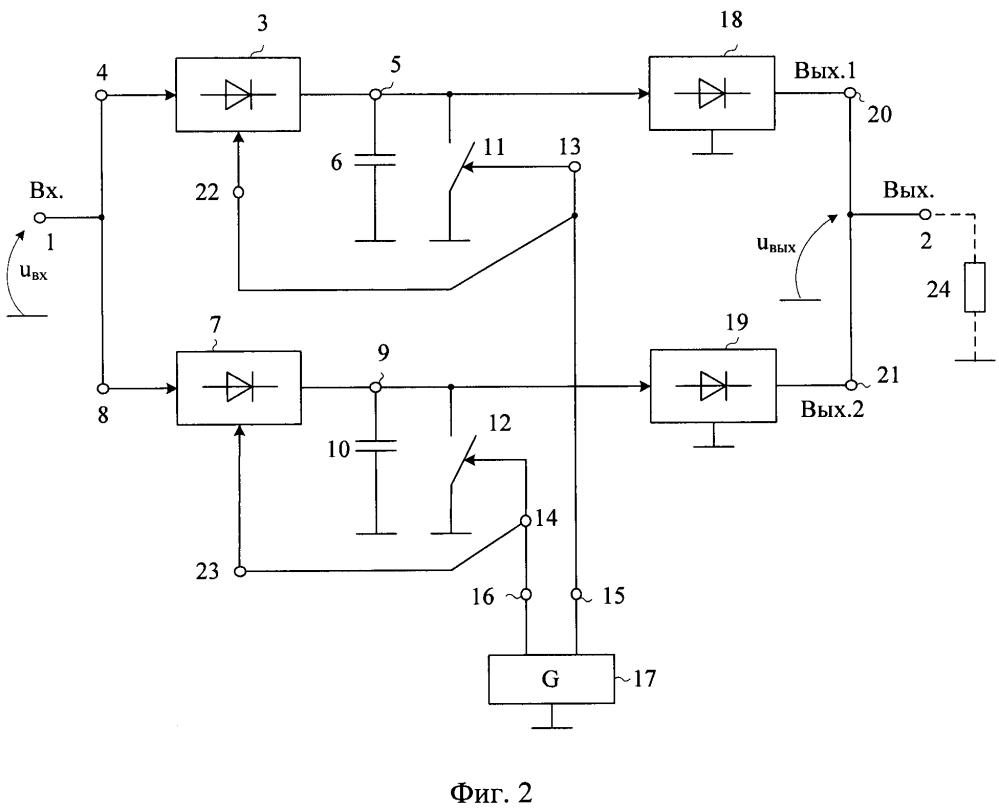 Асинхронный пиковый детектор