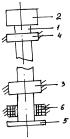 Способ разгрузки опорных подшипников вращающегося вала с нагрузочной массой и устройство для его осуществления
