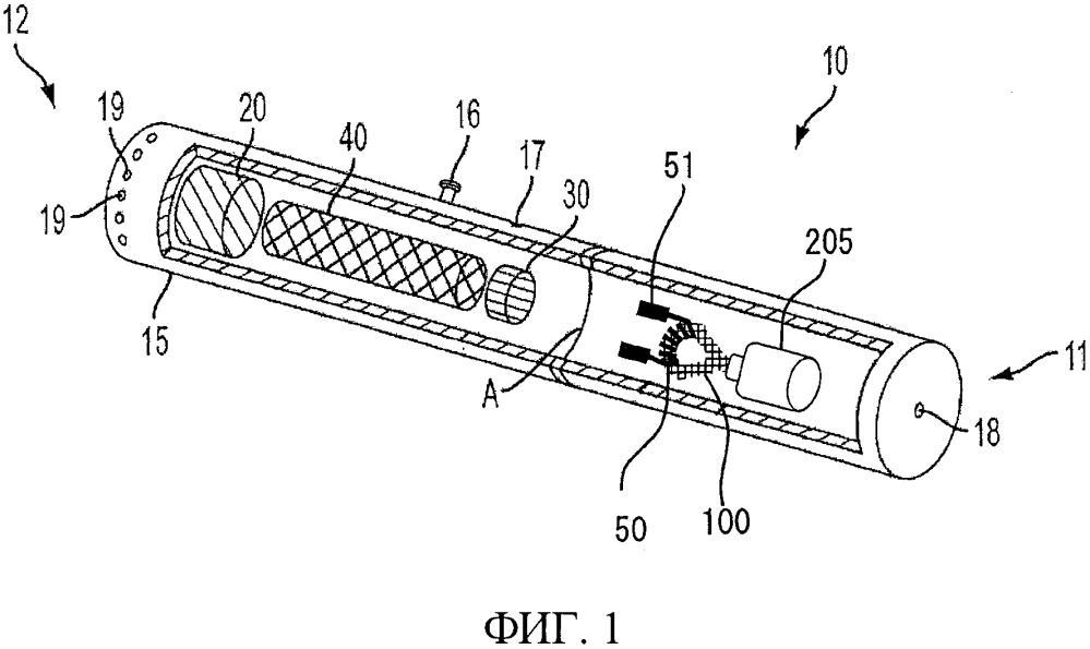 Фитиль, выполненный с возможностью использования в электронном курительном изделии
