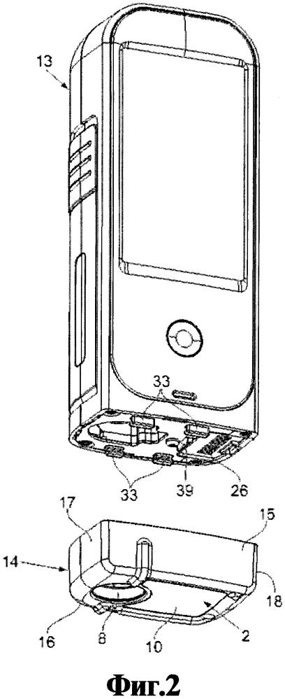 Инъекционное устройство и съемный блок для инъекционного устройства