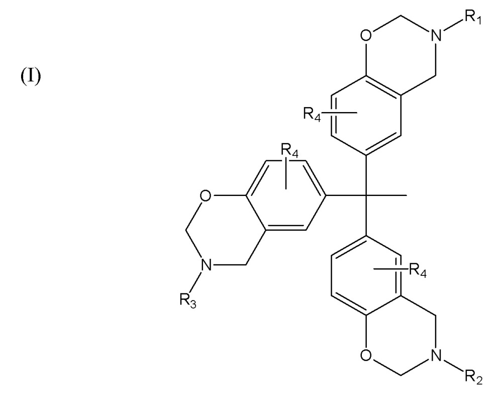 Многофункциональные бензоксазины и композиционные материалы, включающие указанные соединения