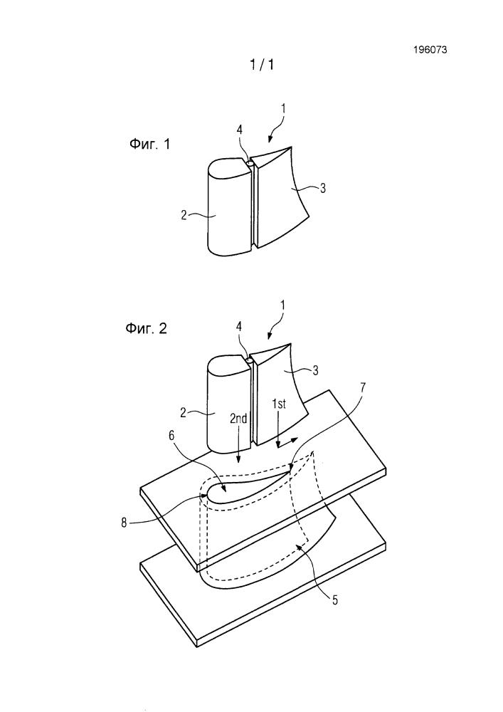 Инжекционное охлаждение роторных лопаток и статорных лопаток газовой турбины