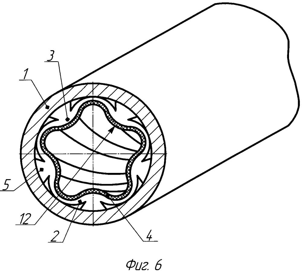 Статор винтовой гидромашины, устройство и способ для изготовления его внутренней зубчатой оболочки