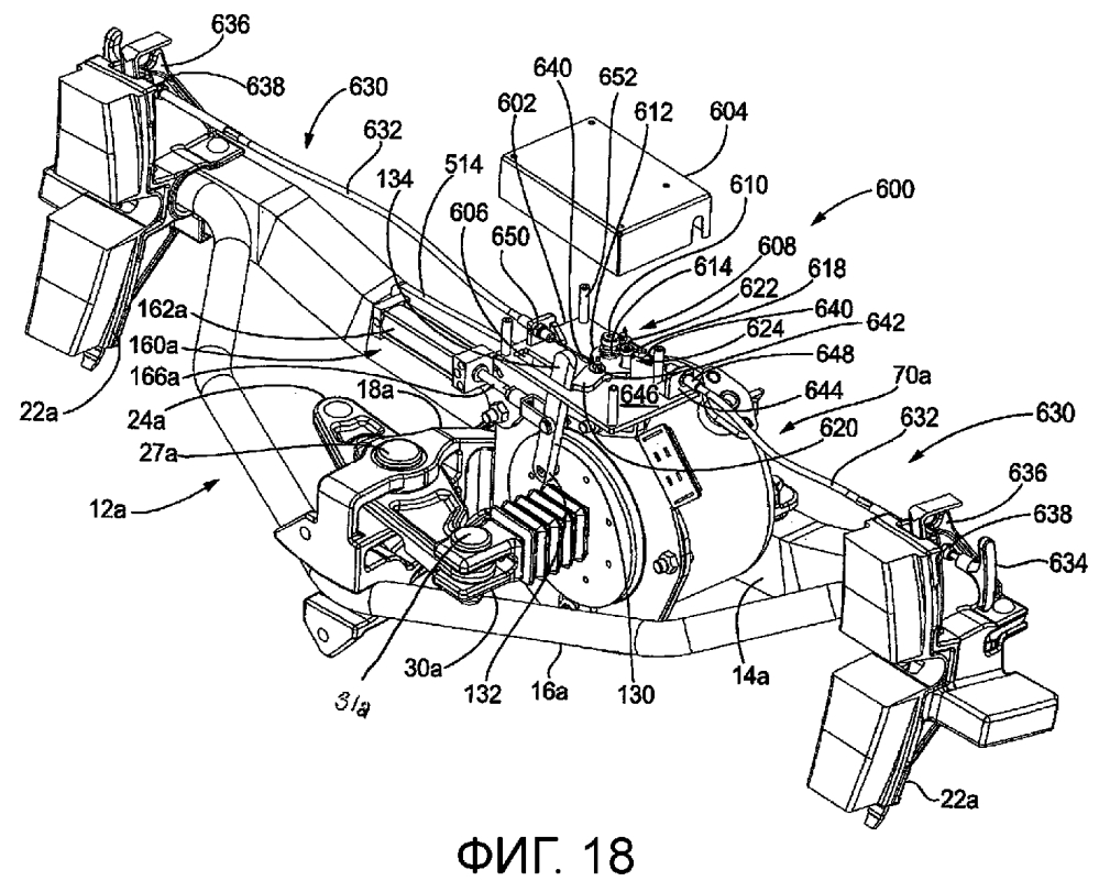 Ручной механизм отпускания тормоза для рельсовых транспортных средств